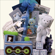 Welcoming your Prince Gift Basket