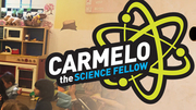 Carmelo the Science Fellow throws science Birthday Party for kid