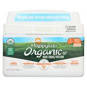Happy Baby Organic Infant Milk-Based Formula Powder - With Iron - Case